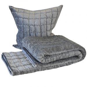 Audrey Silver Comforter