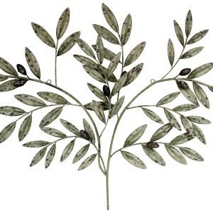 Olive Branch Wall Decor