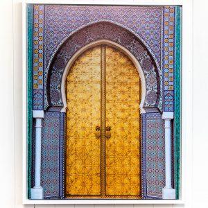 Golden Arch Doorway Floating Frame