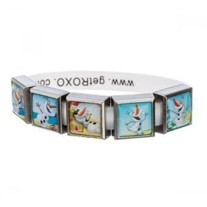 Disney Frozen Summertime OLAF 5 Charm Bracelet