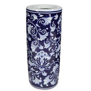 Trellis Ceramic Umbrella Stand