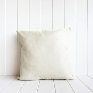 Navy Watercolour Coral Indoor Cushion