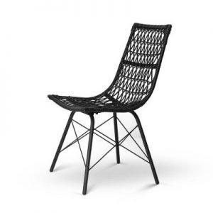Handmade Premium Faux Rattan Dining Chair - Set of 4