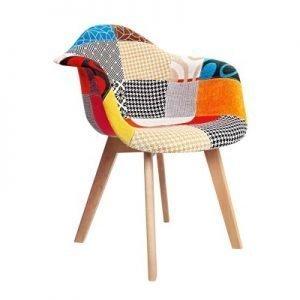 Premium Fabric Armchairs - Set of 2