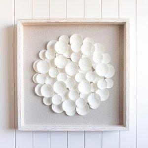 Fleurs en Coquillage 3D Premium Art
