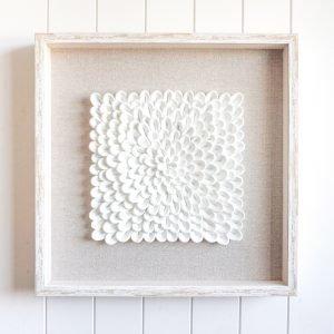 Marshmallow Flowers 3D Premium Art