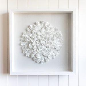 Coral En Blanc 3D Premium Art