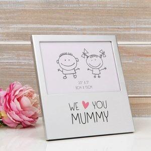 We Love You Mummy Photo Frame
