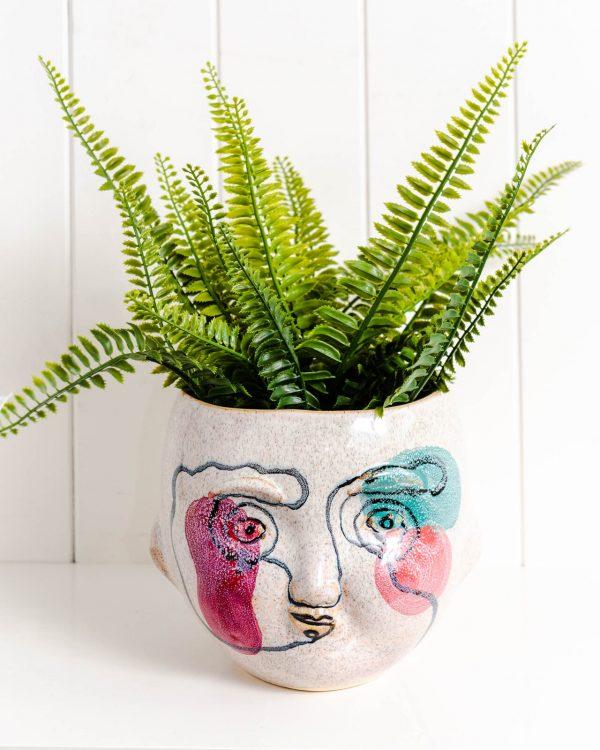 Bewildered Planter Pot