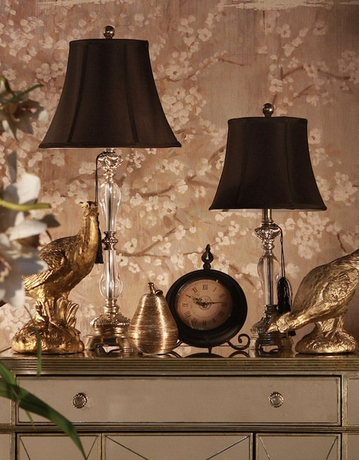 Felicienne Champagne Table Lamp