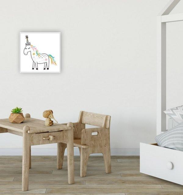 Unicorn Party Thin Floating Frame