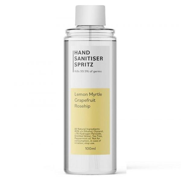 Hand Sanitiser Spritz - Lemon Myrtle Blend - 100ml