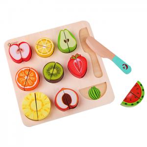 Classic World Fruit Cutting Puzzle Blocks
