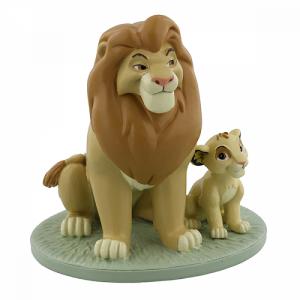 My Daddy Is King - Mufasa & Simba Figurine