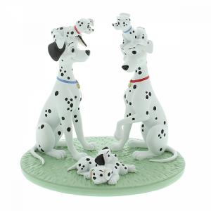 101 Dalmatians One Big Happy Family Figurine