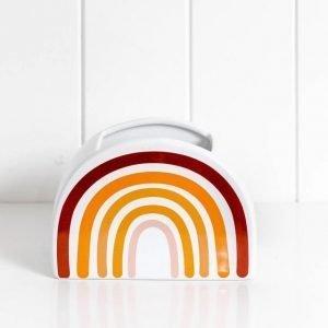 Rainbow Neutrals Vase - Set Of 2