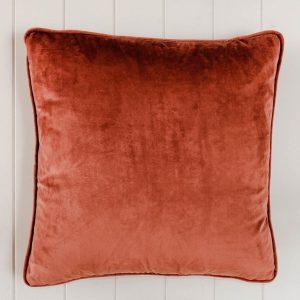 Dusty Rose Velvet Indoor Cushion