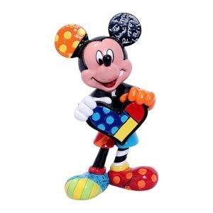 Disney Mickey Mouse Holding Heart - Mini Figurine