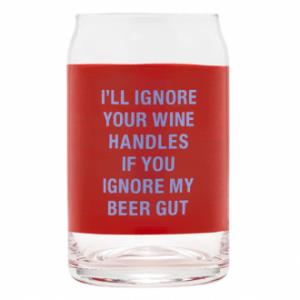 BEER GUT - Beer Can Glass - Set Of 4