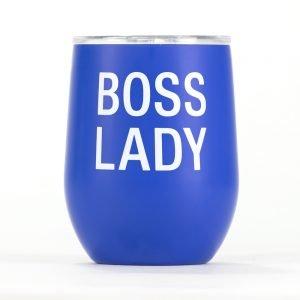 Boss Lady – Thermal Wine Tumbler