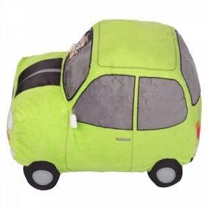 MR BEAN PLUSH CAR WITH SOUND PLAYS THEME TUNE