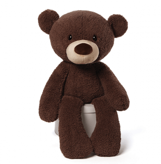 Fuzzy Chocolate Bear | Jumbo Plush | 86CM