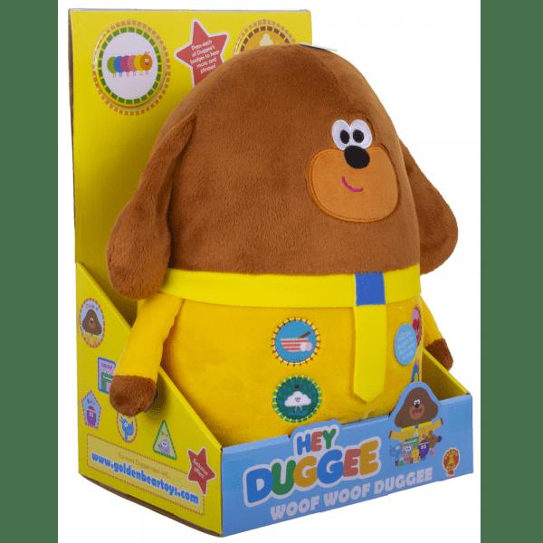 Woof Woof Duggee Soft Toy | Hey Duggee