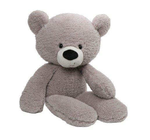 Fuzzy Grey Bear   Extra Large Plush   61CM