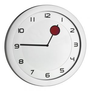 Happy Hour Wall Clock | Colour Changing Hour Hand