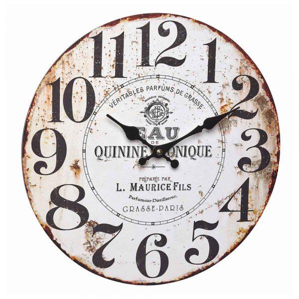 Quinine Tonique Vintage Wall Clock