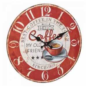 Coffee Vintage Wall Clock
