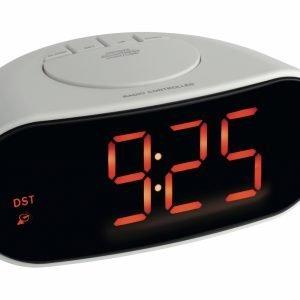 Digital Radio-Controlled Alarm Clock with Luminous Digits