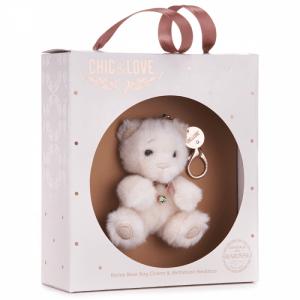 Bailey Bear Bag Charm & Necklace For August