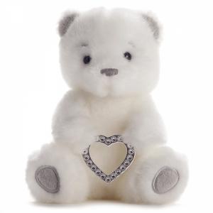 Love Heart Bailey Bear - Medium