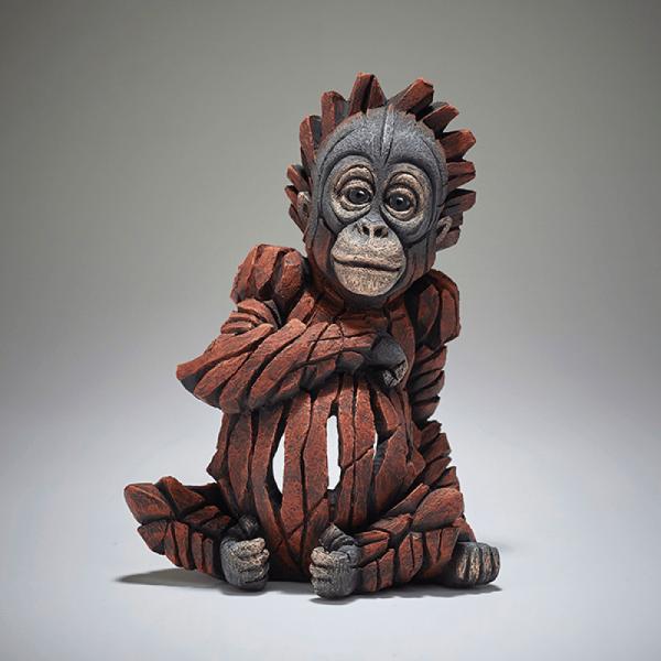 Baby Orangutan Sculpture   Edge Sculptures