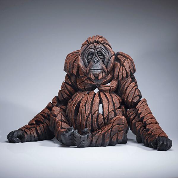 Mother Orangutan Sculpture | Edge Sculptures