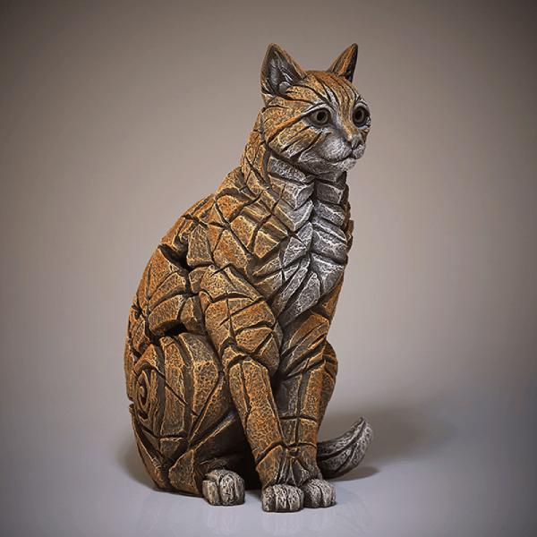 Ginger Cat Sculpture   Edge Sculptures