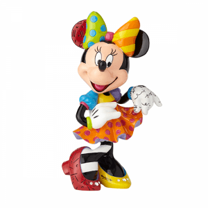 Disney Minnie Mouse Large 90th Anniversary Figurine with Bling