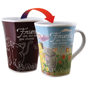 Friends - Colour Changing Story Mugs - Set of 2