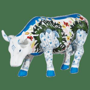Musselmalet- Cow Parade Medium Sculpture (Resin)