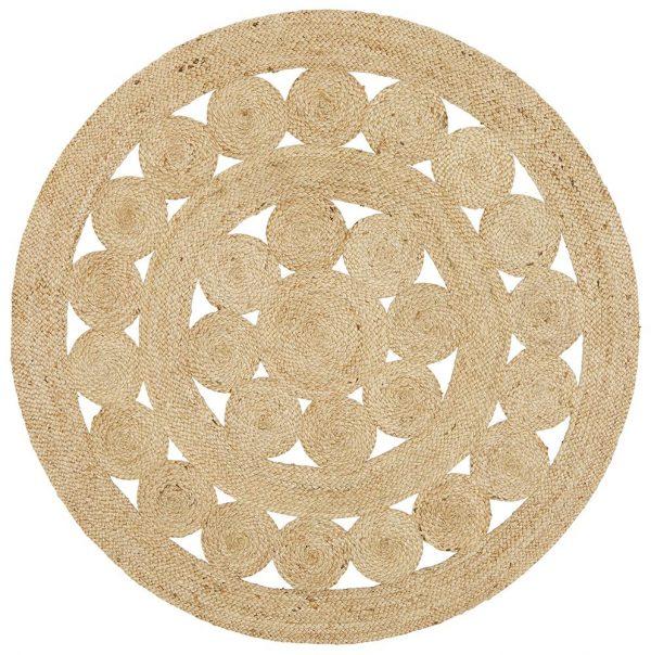 Atrium Pilu Natural Round Rug