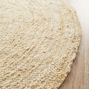 Atrium Polo Bleach Round Rug