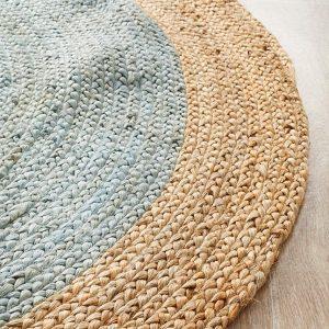 Atrium Polo Blue Round Rug