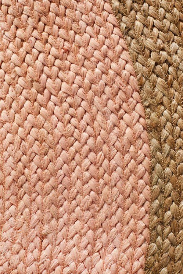 Atrium Polo Pink Round Rug