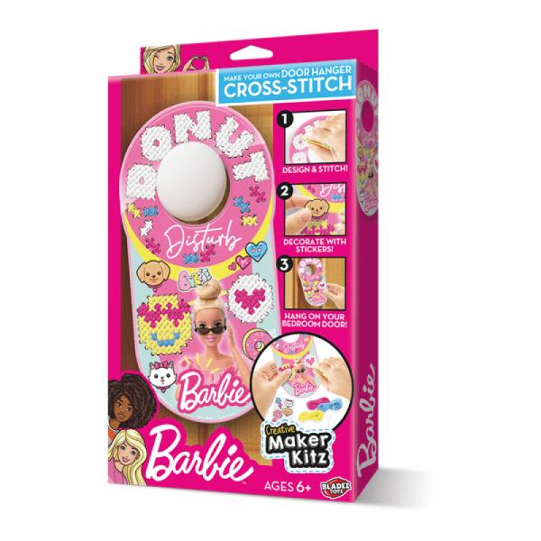 Barbie Cross-Stitch Door Hanger - Creative Maker Kit