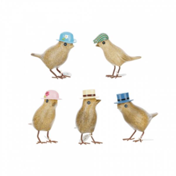 Garden Birds - Set Of 5 | DCUK