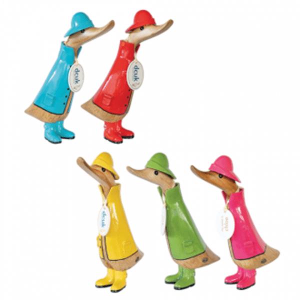Raincoat Ducklings - Set Of 5 | DCUK
