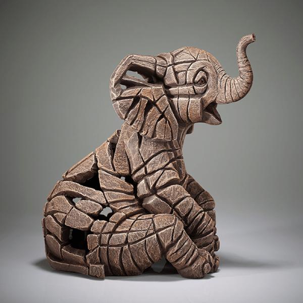 Elephant Calf Figure - Small | Edge Sculptures