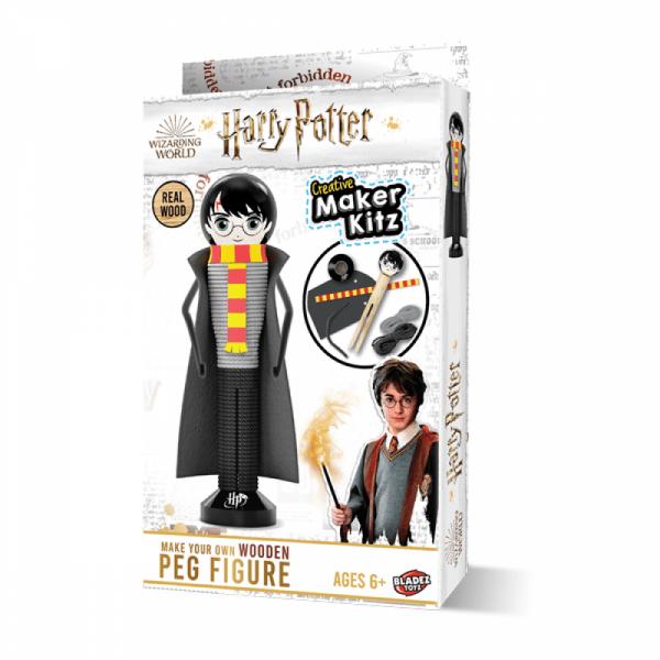 Harry Potter Wooden Peg Figure DIY Kit