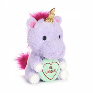 Mia The Unicorn Soft Toy   Swizzels Love Hearts